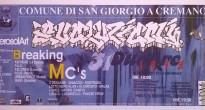 Il flyer di Evoluzioni 1998