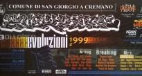 Il flyer di Evoluzioni 1999