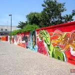 Circumwriting 2004, stazione di Barra. In foto i lavori di Lion, Ebson, Bastian, Pedro, Gosh, Dopher, Edu, Army, Raffo, Teso, Deor