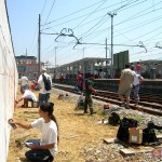 Circumwriting, 2004. stazione di Barra