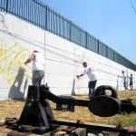 Circumwriting 2004, stazione di Barra
