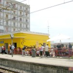 Circumwriting 2004,  stazione di via Leopardi