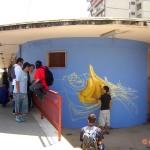Circumwriting 2004, Erk a lavoro, Stazione di Torre Annunziata