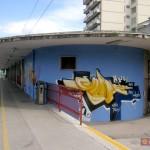 Circumwriting 2004, Stazione di Torre Annunziata, lavoro eseguito da Erk