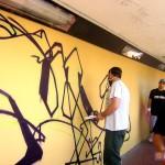 Circumwriting 2004, stazione di Torre Annunziata