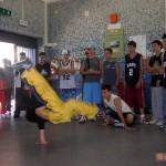 Circumwriting 2004, break dance presso la stazione di Trecase