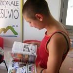 Circumwriting 2004,  sede informativa, stazione Castellammare di Stabia