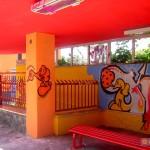 Circumwriting 2004, stazione di via del Monte, lavoro di Kaf