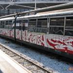 Pellicole di rivestimento treni in collaborazione con Circumvesuviana s.r.l