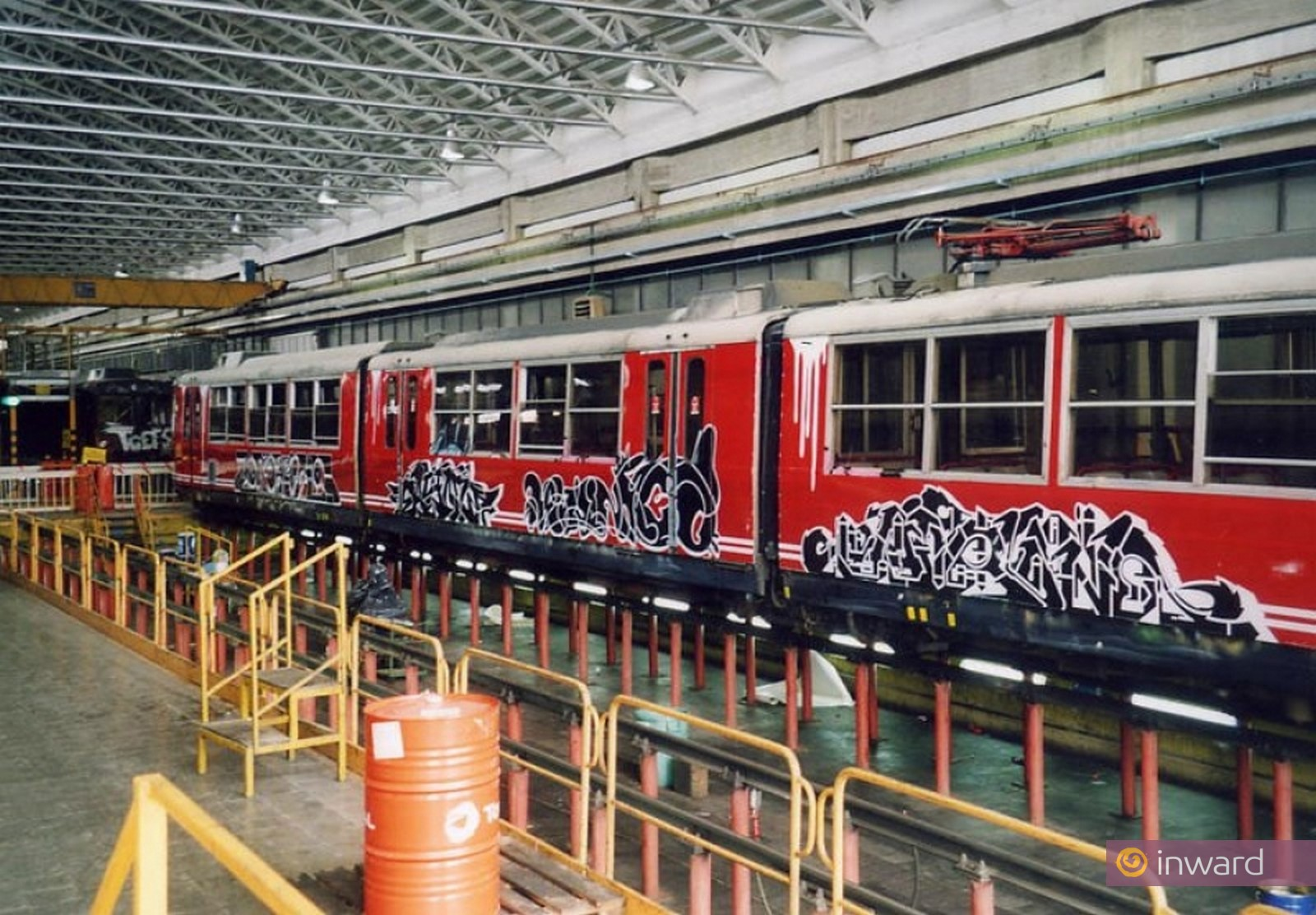 Graffiti design su pellicole per ETR