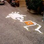 Stradarolo. Festival internazionale delle arti di strada, intervento di Iabo