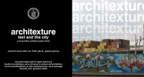 Locandina Architexture, Text and the City e Urbanizer
