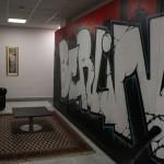 ''Berlin'' prima opera di street art in una sede ministeriale