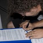 DoTheWriting! Emilia Romagna: il momento della firma del protocollo