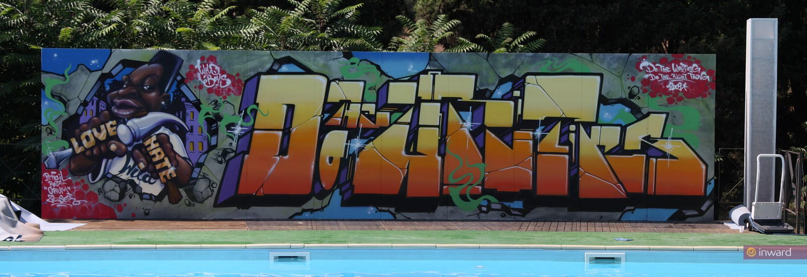 Creatività urbana ad Atreju, 2009 e 2011