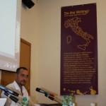 DoTheWriting! Toscana, momento della conferenza con Luca Borriello, Direttore Ricerca INWARD
