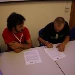 DoTheWriting! Toscana, la firma del protocollo
