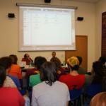 DoTheWriting! Toscana: un momento della conferenza svoltasi a  Pontedera, 19 settembre 2009.