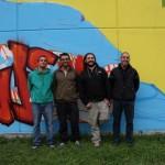 DoTheWriting! Piemonte: Giuseppe Di Biccari (presidente ACU Style Orange), Riccardo Lanfranco (presidente ACU Il Cerchio e le Gocce) e Andrea Pagano (presidente ACU Monkeys Evolution) a margine dell'incontro. Nichelino, 31 ottobre 2009.