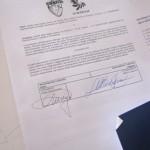DoTheWriting! Veneto, firma del procollo