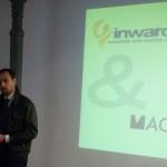 DoTheWriting! Friuli Venezia Giulia: Luca Borriello (direttore ricerca INWARD) e Mattia Campo dall'Orto (presidente ACU Macross) durante la firma della manifestazione di interesse. Nova Gorica, 15 maggio 2010.