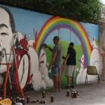 Smemo Per la Creatività Urbana - Napoli, Zeus40 e Rota a lavoro