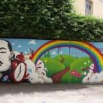 Smemo Per la Creatività Urbana - Napoli, l'intervento di Zeus40 e Rota