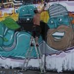 Smemo Per la Creatività Urbana - Torino, Mr. Fijodor a lavoro