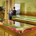 La Fabbrica delle Lettere, mostra del progetto Alephactory, presso la Biblioteca Nazionale del Palazzo Reale di Napoli. Intervista a Mauro Giancaspro,  direttore della Biblioteca Nazionale di Palazzo Reale