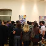 Dalla Storia del Graffitismo alla Pittura Contemporanea: un momento della mostra  presso la Fondazione Valenzi