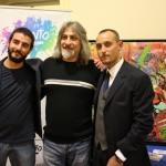 Dalla Storia del Graffitismo alla Pittura Contemporanea, mostra Seen presso la Fondazione Valenzi, con Salvatore Pope Velotti, Direttore  Sviluppo INWARD, e Luca Borriello, Direttore Ricerca INWARD
