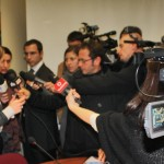 Conferenza nazionale di presentazione del progetto CUNTO, interviste a Giorgia Meloni, Ministro della Gioventù.
