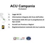 Proposte ACU Evoluzioni - Campania