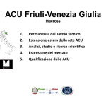 Proposte ACU Macross - Friuli Venezia Giulia