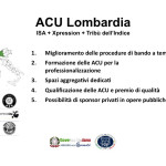 Proposte ACU ISA + Xpression + Tribù dell'Indice - Lombardia
