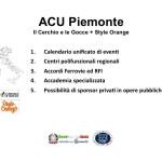 Proposte ACU Il Cerchio e le Gocce + Style Orange - Piemonte