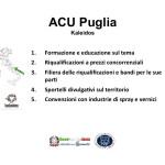 Proposte ACU Kaleidos - Puglia