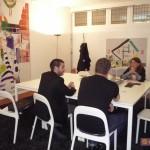 Salvatore Velotti, direttore sviluppo INWARD, insieme a Jochem Cats  presso la Città de l'Aja