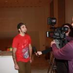 Presentazione della collaborazione tra Nartist con Mr.Wany e INWARD presso la ''White Gallery'' di Roma, intervista a Mr.Wany