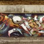 L'opera realizzata da Mr.Wany in  Ecuador