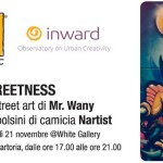 Invito per la presentazione dei polsini di camicia di Nartist firmati da Mr.Wany, in collaborazione con INWARD