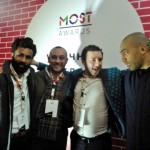 MOST - Moscow Street Art Festival, Luca Borriello, direttore ricerca INWARD, con Kendal Henry e Ivan Panteleev