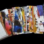 Quarantotto segnalibri: KayOne, Verbo, Rae Martini, Cyop, Kaf, Luca Barcellona e tanti altri tra gli autori di questa incredibile raccolta di opere 10x40, poi stampate in foggia di segnalibri. 2005