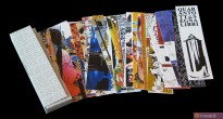 """""""Quarantotto Segnalibri"""": una produzione di venticinque segnalibri d'artista prodotta da INWARD per Galleria d'arte San Giorgio."""