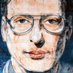 Ad Majolica – Museo Diffuso delle Maioliche della Street Art. Jorit AGOch, ''Voncenzo''
