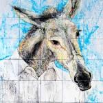 Ad Majolica – Museo Diffuso delle Maioliche della Street Art. Mattia Campo Dall'Orto, ''Asino chi guarda''