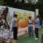 Atreju 2009 - Oltre ogni muro, Opium e Pencil con Luca Borriello, direttore ricerca INWARD