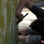 Artisti a lavoro  per W3 ''Kaleidos''