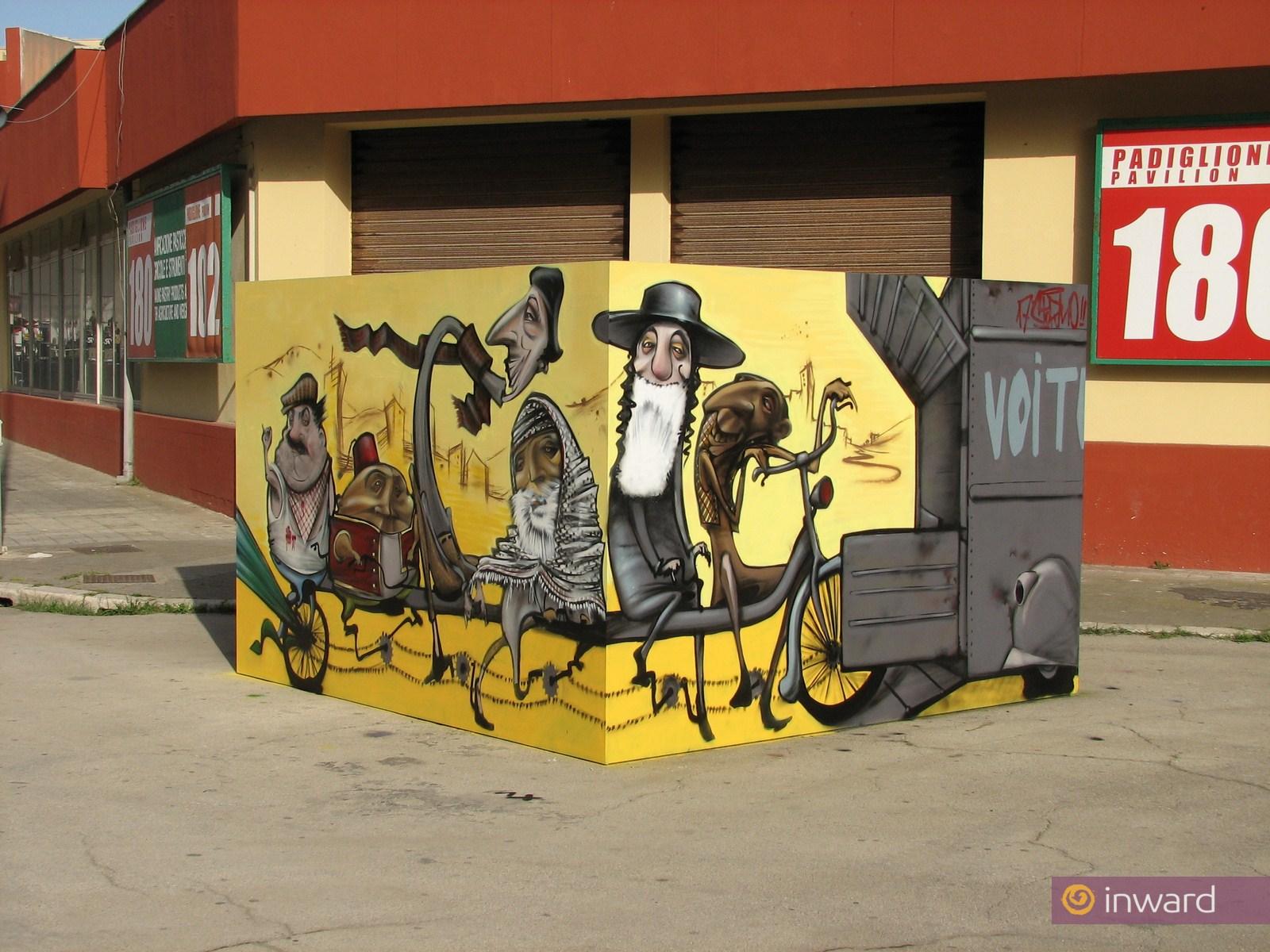 Kaleidos: 40 street artisti pugliesi per la Bjcem di Bari