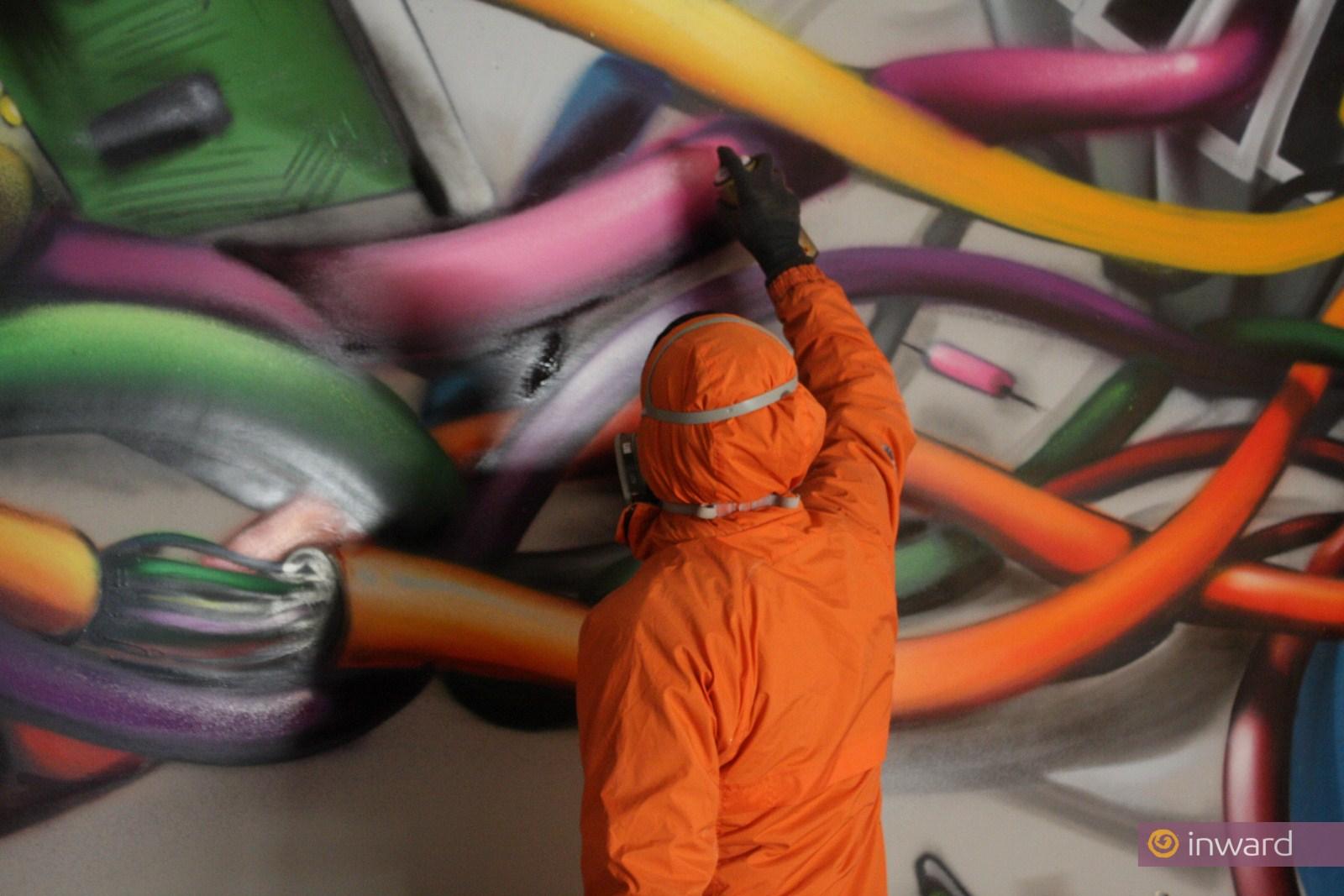 Street Art per Notartel SpA